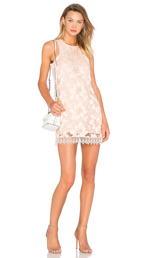 Lovers + Friends Caspian Shift Dress in Peach