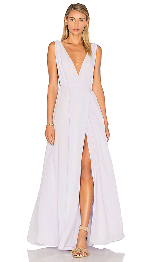 Lovers + Friends x REVOLVE Leah Gown in Lavender