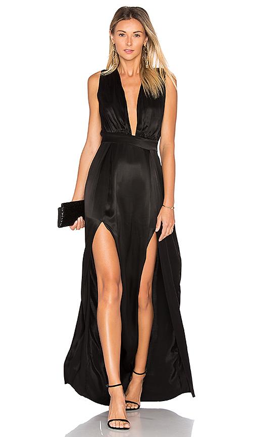 Lovers + Friends x REVOLVE Naomi Gown in Black
