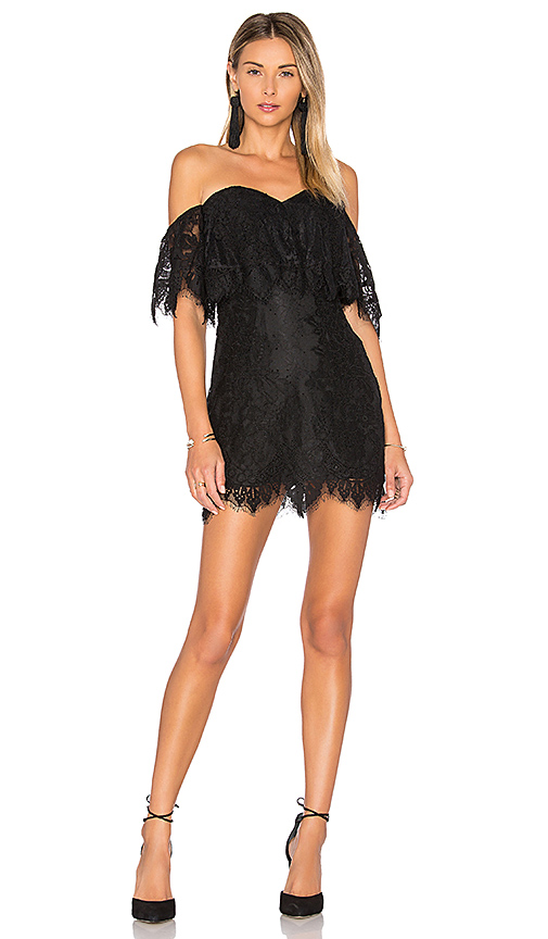Lovers + Friends Lush Dress in Black