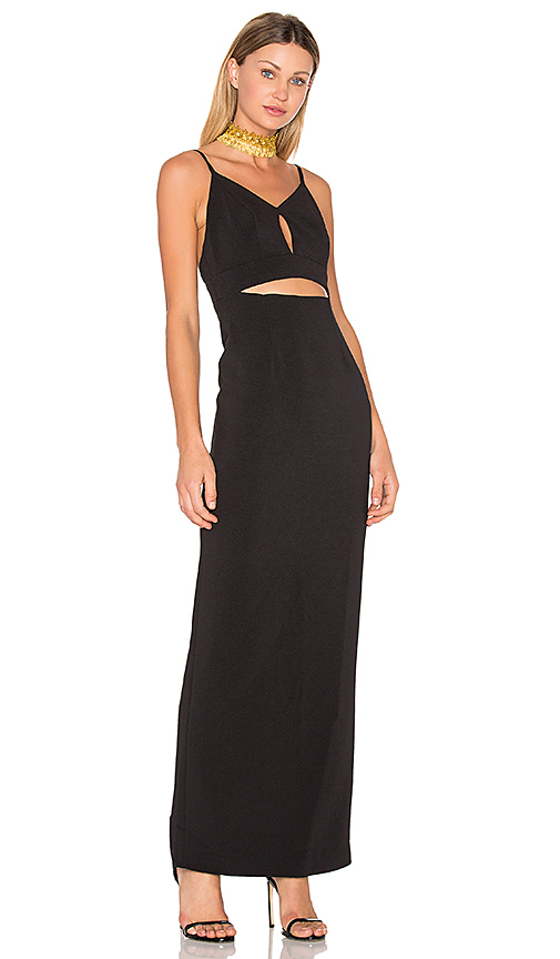 Photo of Lovers + Friends x REVOLVE Gaia Maxi in Black - shop Lovers + Friends dresses sales