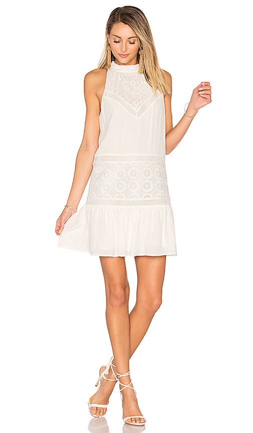 Lovers + Friends Star Chaser Dress in White