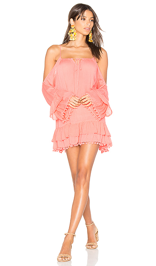 Lovers + Friends Tropical Oasis Dress in Pink