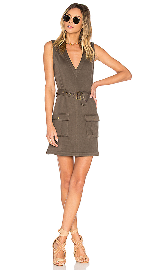 Lovers + Friends x REVOLVE Axel Dress in Army