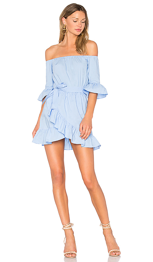 Lovers + Friends x REVOLVE Cora Dress in Baby Blue