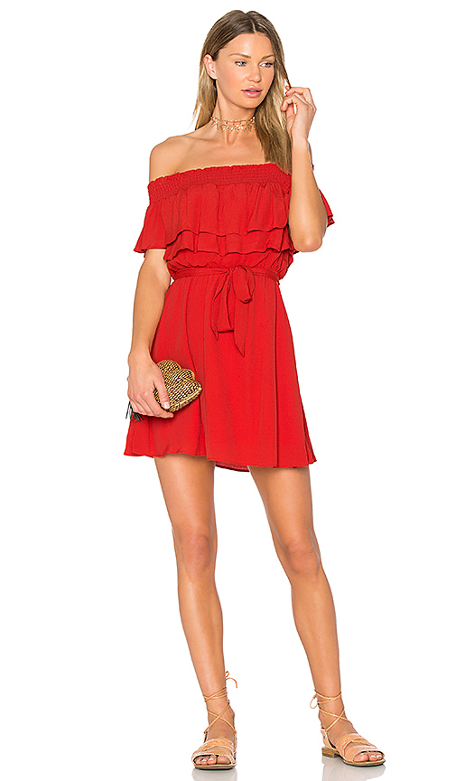 Photo of Lovers + Friends Suntime Dress in Red - shop Lovers + Friends dresses sales