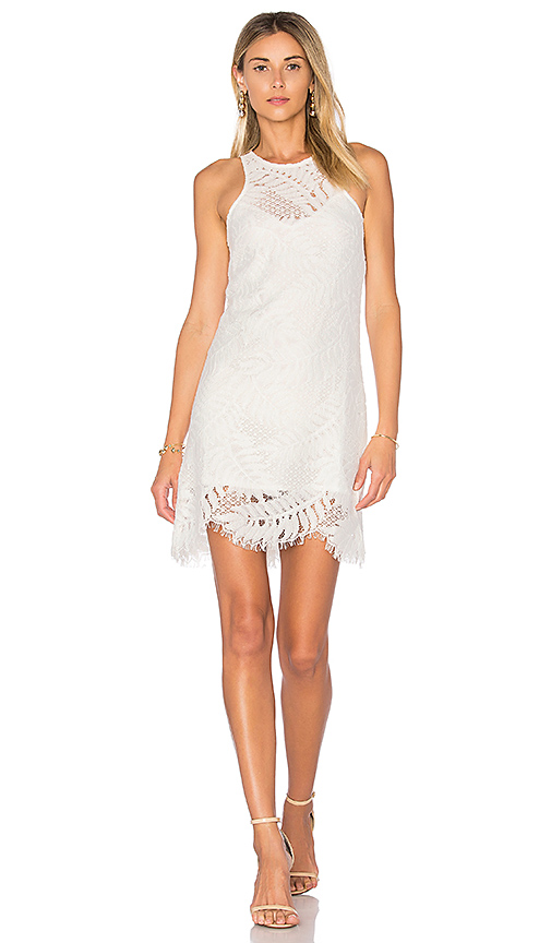 Lovers + Friends Sky Shift Dress in White
