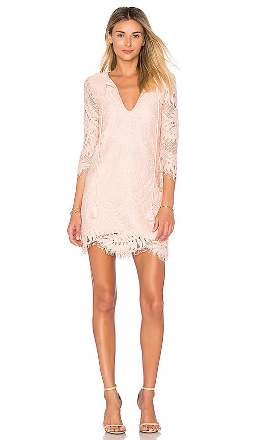 Lovers + Friends Marlie Mini Dress in Coral