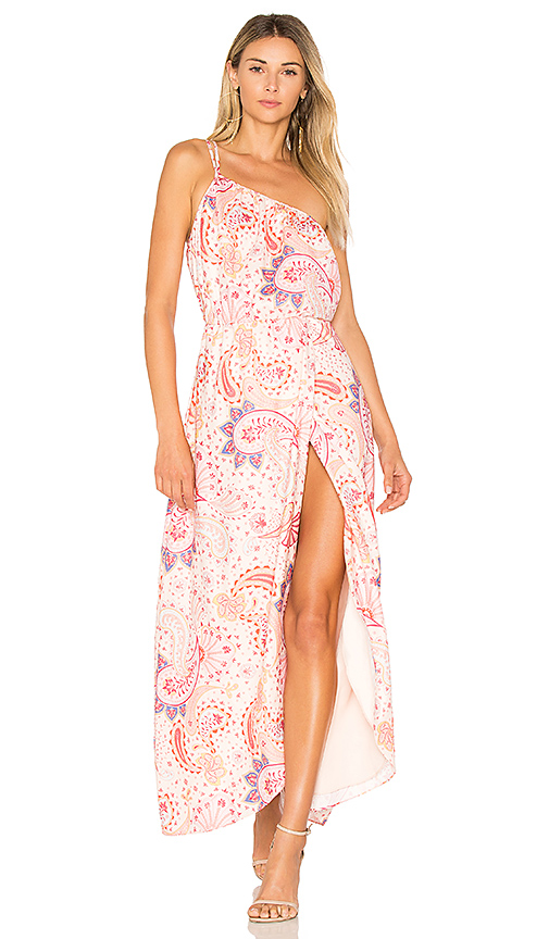 Lovers + Friends Valentina Dress in Pink
