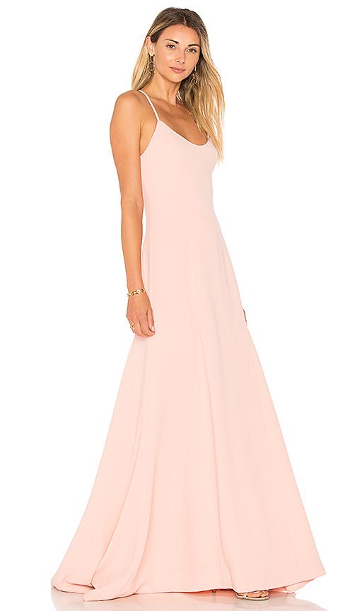 Lovers + Friends x REVOLVE Brantford Gown in Peach