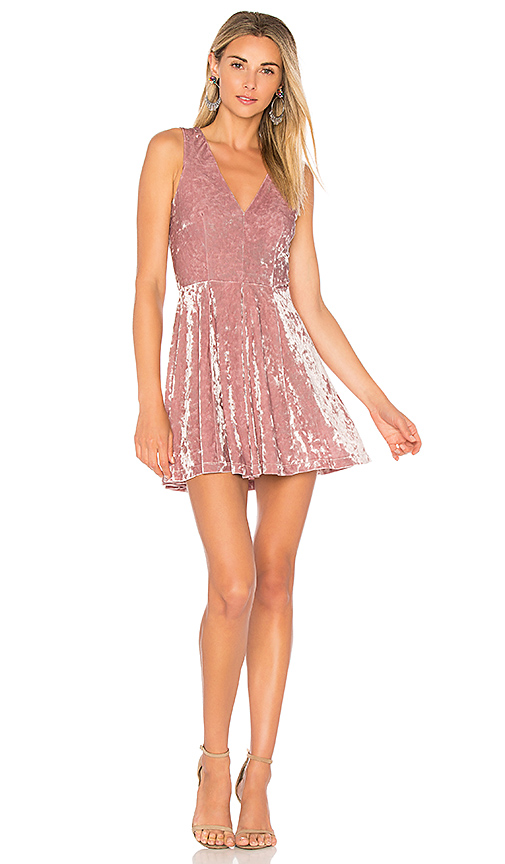 Lovers + Friends X REVOLVE Geneva Dress in Blush
