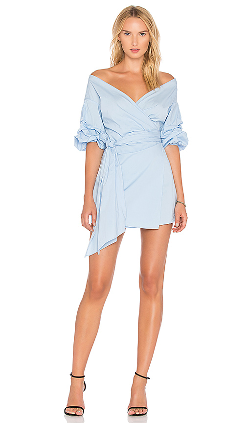 Lovers + Friends Gabriel Dress in Baby Blue
