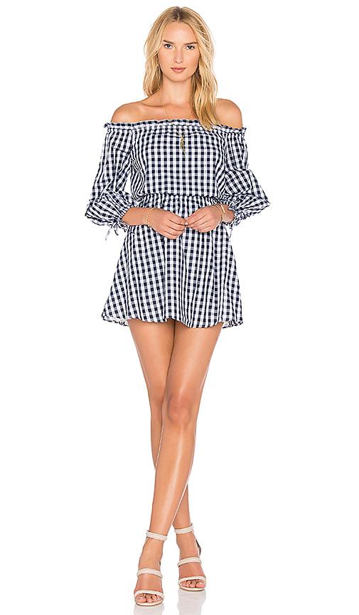 Lovers + Friends X REVOLVE Get Lost Dress in Navy