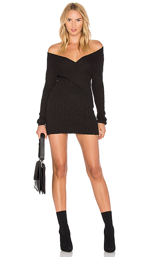 Lovers + Friends X REVOLVE Kai Sweater Dress in Black