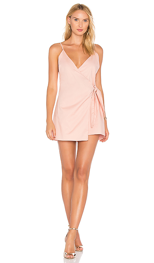 Lovers + Friends Julian Dress in Pink