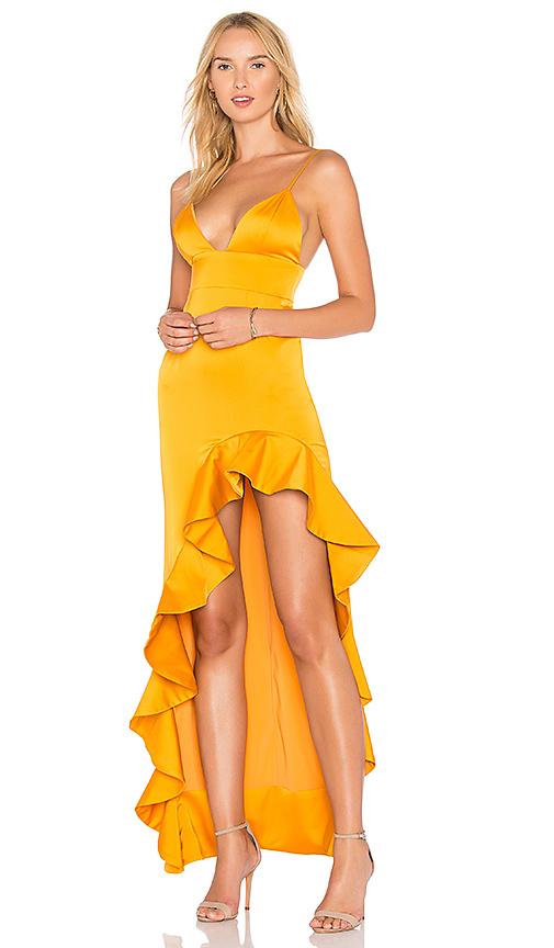 Lovers + Friends x REVOLVE Aahmani Gown in Mustard