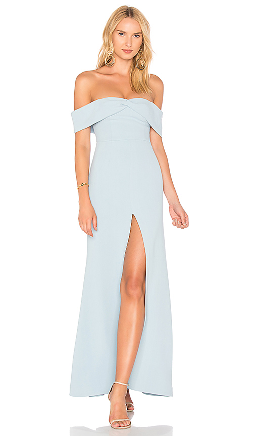 Lovers + Friends x REVOLVE Danica Gown in Baby Blue