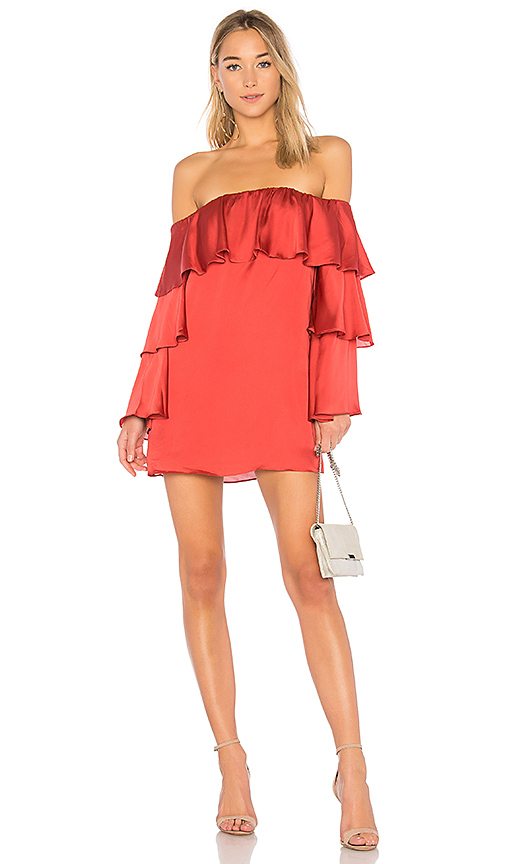 Lovers + Friends x REVOLVE Etra dress in Red