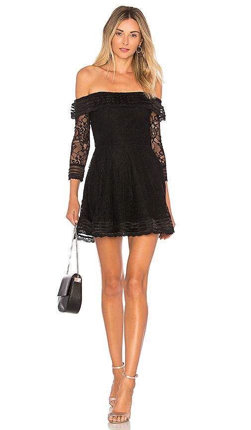 Photo of Lovers + Friends Cass Dress in Black - shop Lovers + Friends dresses sales