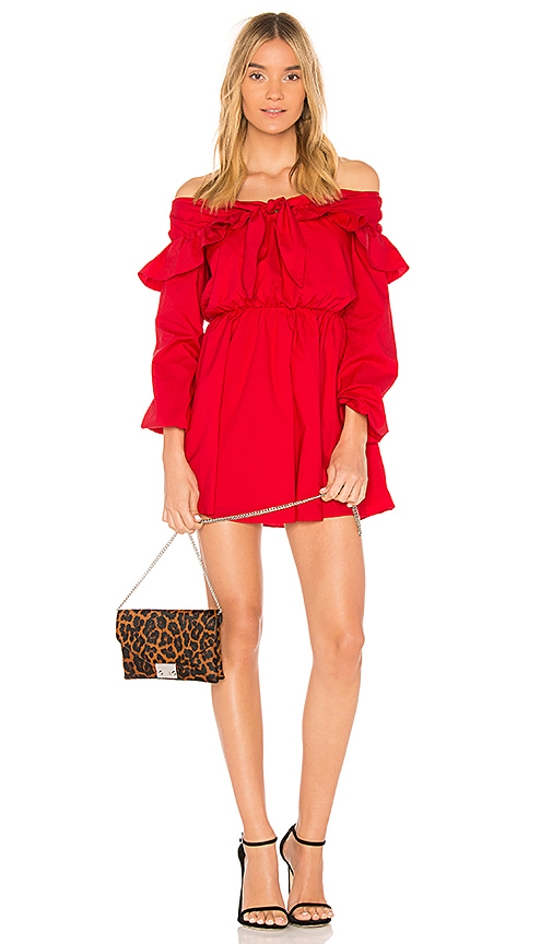 Lovers + Friends x REVOLVE Rebecca Dress in Red