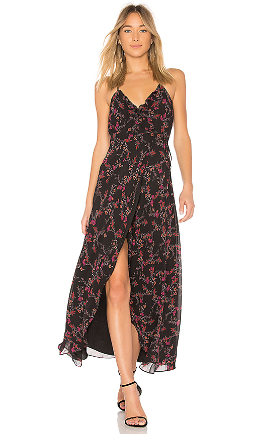 Lovers + Friends Nostalgia Maxi in Black