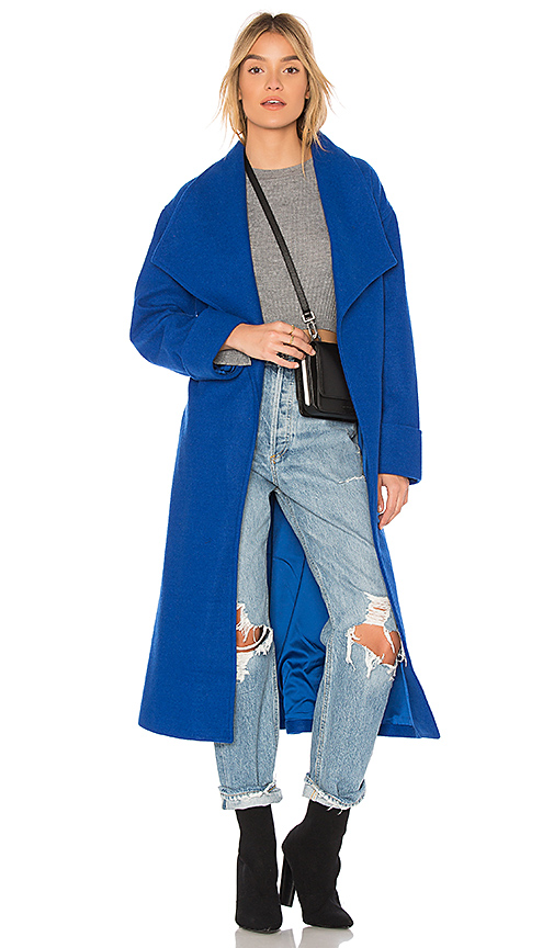Lovers + Friends x REVOLVE Maddie Coat in Blue
