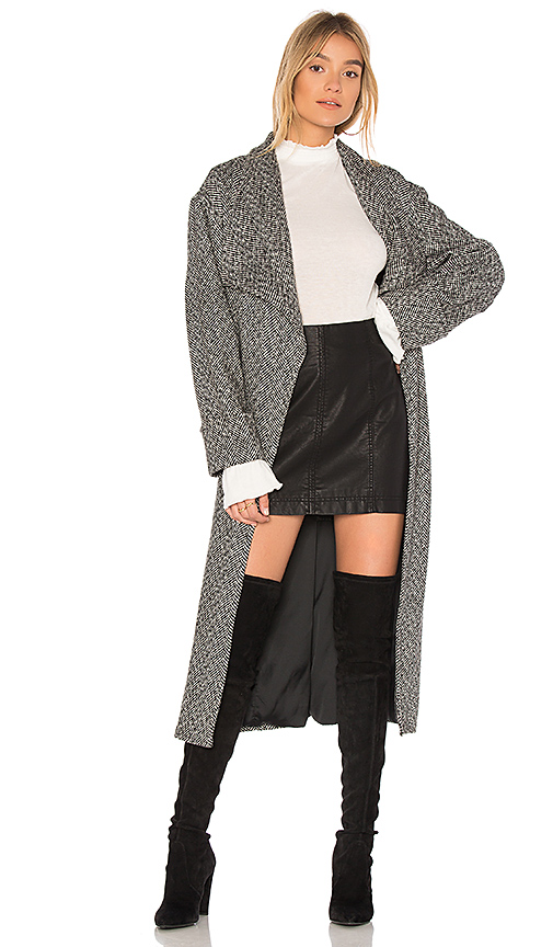 Lovers + Friends x REVOLVE Maddie Coat in Gray