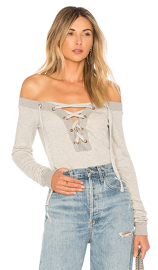 Lovers + Friends x REVOLVE Fletcher Pullover in Gray
