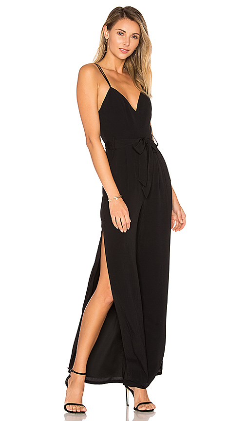 Lovers + Friends Charisma Jumpsuit in Black. - size S (also in L,M,XS)