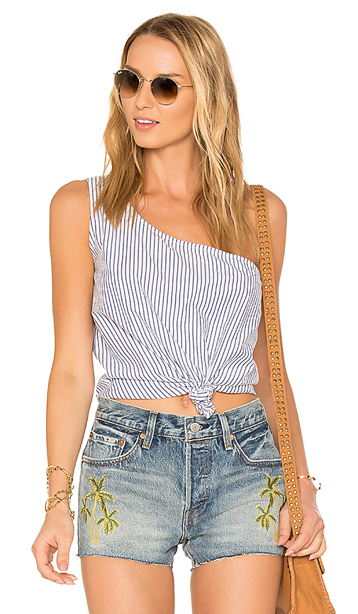 Lovers + Friends x REVOLVE Tie That Top in Blue