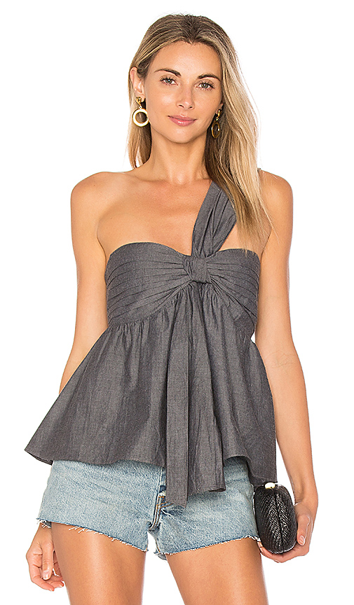 Lovers + Friends x REVOLVE Cruiser Top in Charcoal