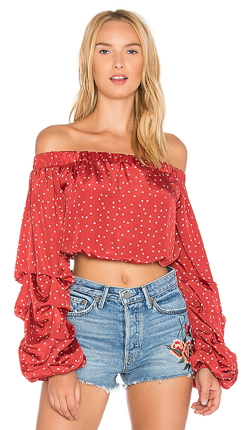 Lovers + Friends X REVOLVE Aurora Top in Red
