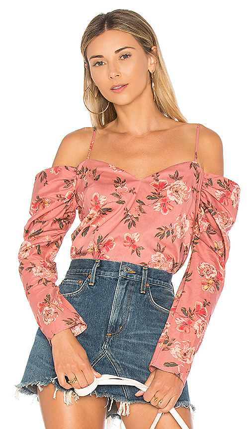 Lovers + Friends Rayna Top in Pink