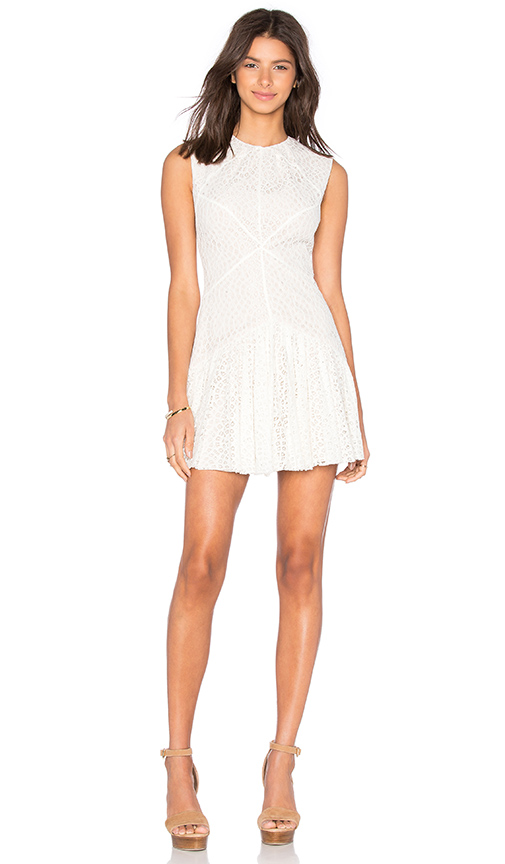 Lover Venturer Dress in Ivory