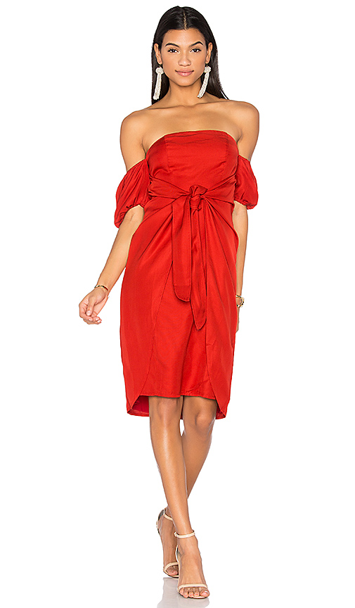 LPA Dress 146 in Red
