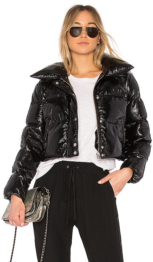 LPA Puffer Jacket 600 in Black