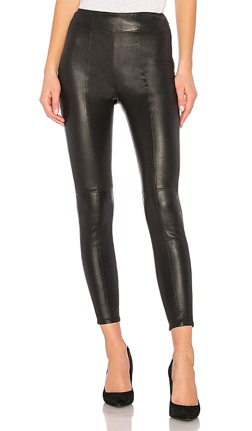 LPA Leather Legging 613 in Black. - size XXS (also in L,M,S,XS)