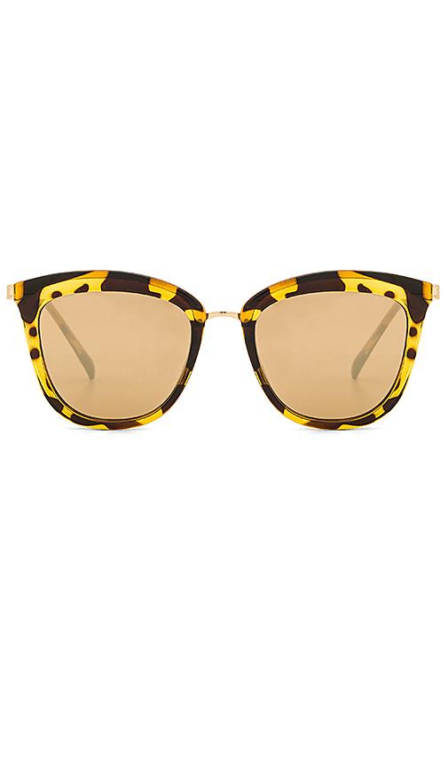 Le Specs Caliente in Brown