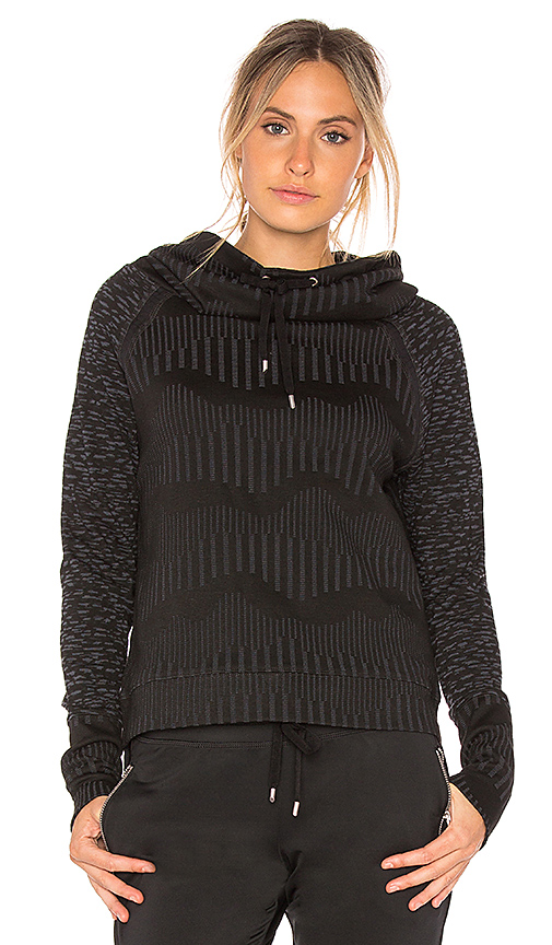 lukka lux Forget Me Not Pullover in Black