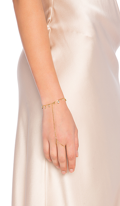 Luv AJ The Hanging Gem Handpiece in Metallic Gold