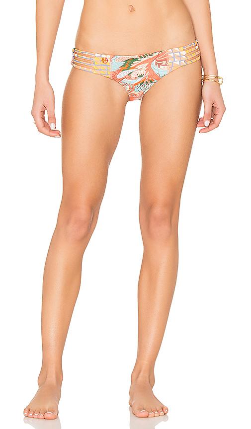 Photo of Maaji Saturday Night Bottom in Orange - shop Capulet swimwear and bikinis sales