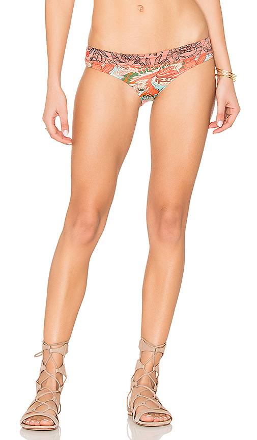 Photo of Maaji Boogie Fever Bottom in Coral - shop LSPACE swimwear and bikinis sales