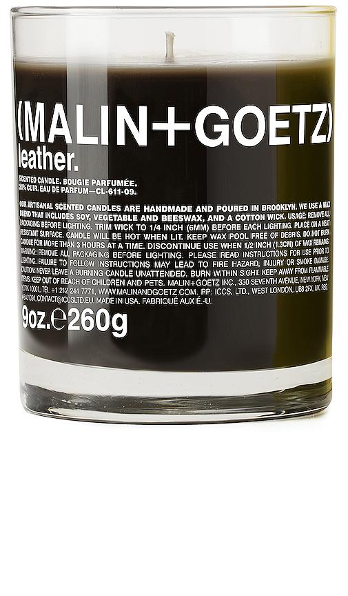 MALIN+GOETZ | MALIN+GOETZ Leather Candle In Beauty: NA. | Goxip