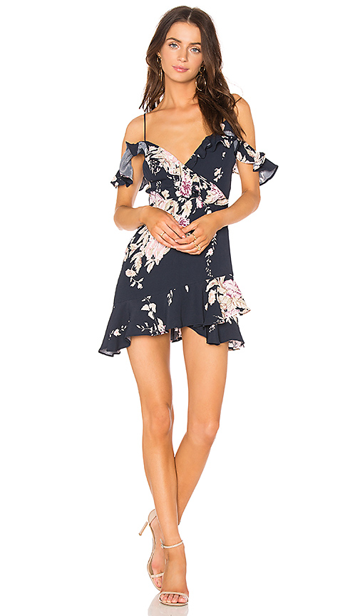 MAJORELLE x REVOLVE Salsa Dress in Navy