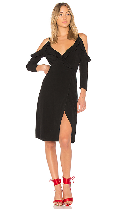 MAJORELLE Far East Dress in Black