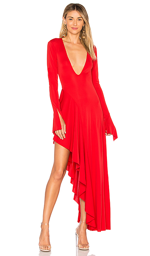 MAJORELLE Dion Dress in Red