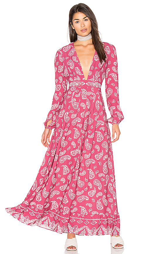 MAJORELLE Gypset Dress in Pink. - size S (also in XS)
