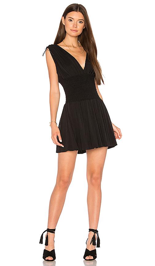 MAJORELLE Tanaka Mini Dress in Black