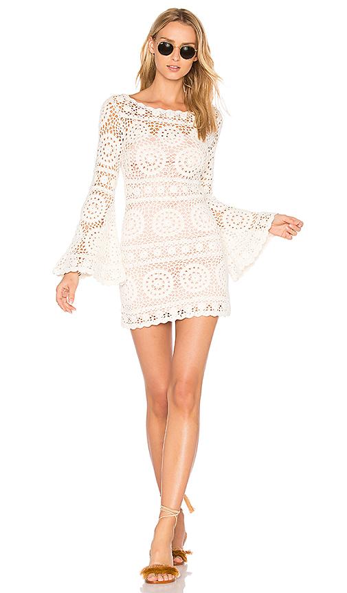 MAJORELLE Harvest Dress in Ivory