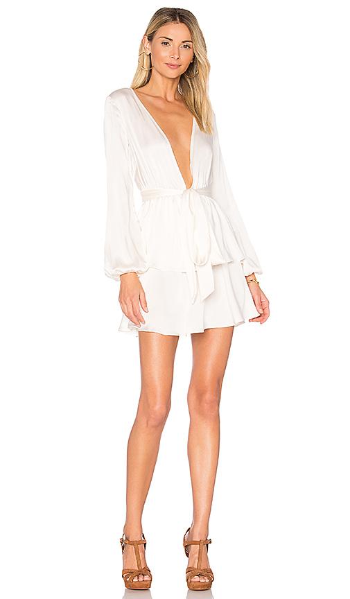 MAJORELLE Berkshire Dress in White